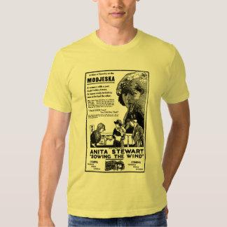 Anita Stewart que semeia o filme silencioso do Camisetas