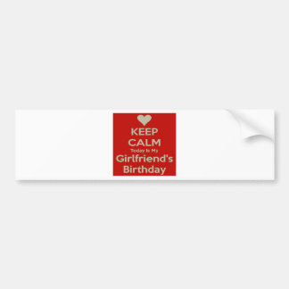 aniversário adesivo para carro