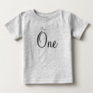 Aniversário Camiseta Para Bebê