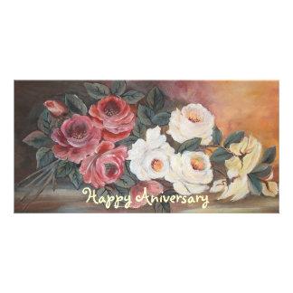 aniversário cartão com foto