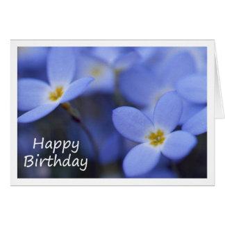 Aniversário - cartão de Bluettes