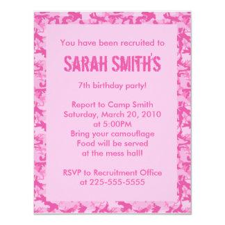 Aniversário Convite Personalizados