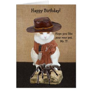 Aniversário customizável dos enganados cartão
