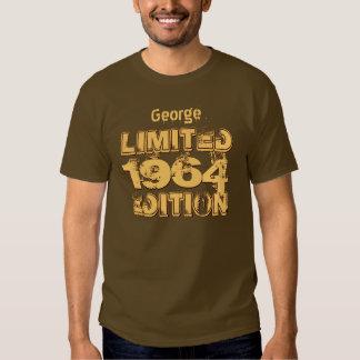 Aniversário da edição 1964 limitada 50th ou tshirt