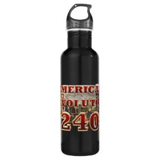 Aniversário da Revolução Americana de ABH 240th Garrafa D'água