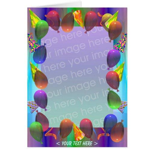 Aniversário da vida do partido (quadro da foto) cartão