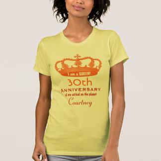 Aniversário de 30 anos engraçado eu sou uma ideia camisetas