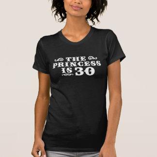 Aniversário de 30 anos tshirt
