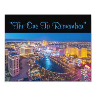 Aniversário de 40 anos de Vegas Convite 10.79 X 13.97cm