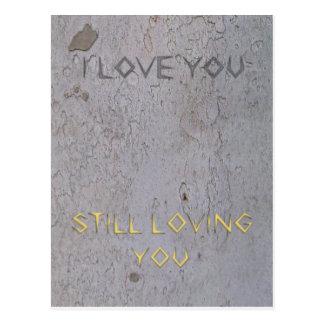 Aniversário de casamento cartão postal