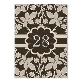 aniversário de casamento retro convite 12.7 x 17.78cm