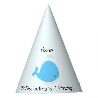 Aniversário de criança bonito dos desenhos chapéu de festa