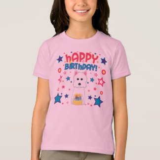 Aniversário de Westie Camiseta