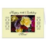 Aniversário do 80 da mãe cartões