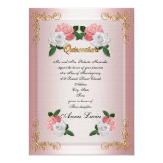 Aniversário do convite maciço de Quinceanera 15o