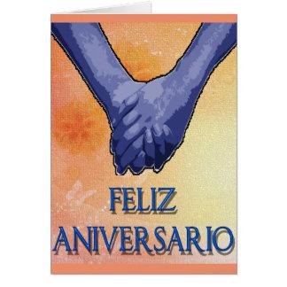 aniversario do feliz cartão comemorativo