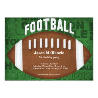 Aniversário do futebol convite personalizados