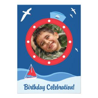 Aniversário do marinheiro convites
