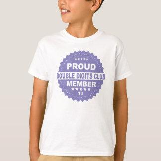 ANIVERSÁRIO do MEMBRO ORGULHOSO dos dois dígitos Camiseta