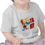 Aniversário do palhaço do primeiro aniversario t-shirts