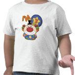 Aniversário do palhaço do segundo aniversário t-shirts