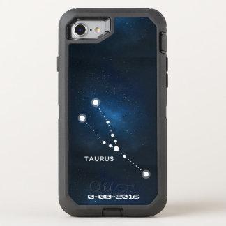 Aniversário do zodíaco, iPhone 6/6s de OtterBox da Capa Para iPhone 8/7 OtterBox Defender