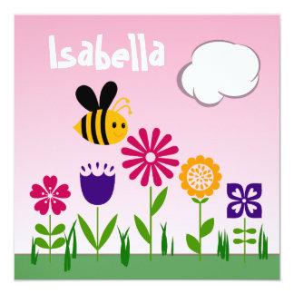 ANIVERSÁRIO feliz do jardim da abelha