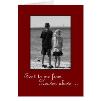 Aniversário para o marido - amor verdadeiro cartão comemorativo