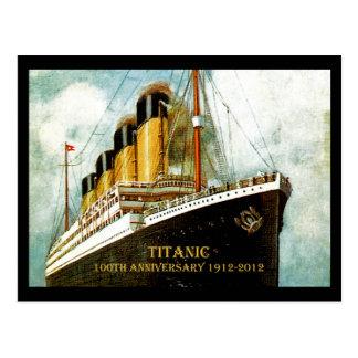 Aniversário titânico do RMS 100th Cartão Postal