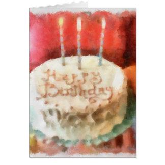 Aniversário WC1 Cartão