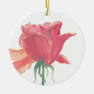 Aniversário Wish.jpg Ornamento De Cerâmica Redondo