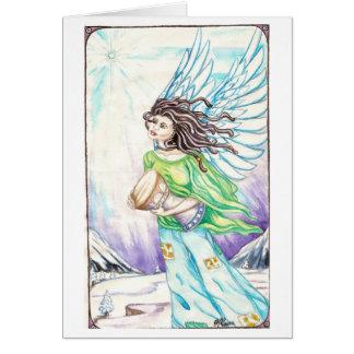 Anjo #1 de Dreadie Cartão Comemorativo