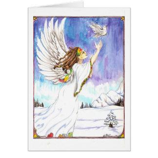 Anjo #2 de Dreadie Cartão Comemorativo