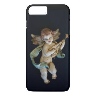 Anjo antigo da porcelana capa iPhone 8 plus/7 plus
