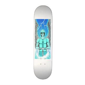 Anjo azul shape de skate 21,6cm