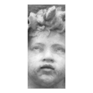 Anjo bonito da criança do renascimento 10.16 x 22.86cm panfleto