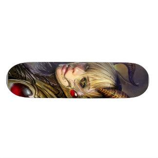 Anjo bonito dos infernos! Skate