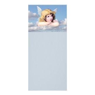 Anjo bonito nas nuvens 10.16 x 22.86cm panfleto
