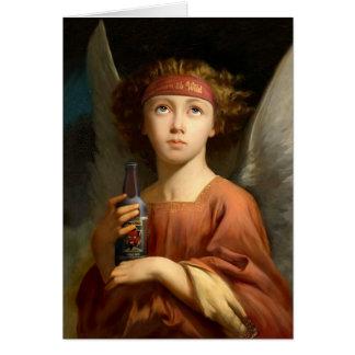 Anjo caído - nascer 2b selvagem cartão
