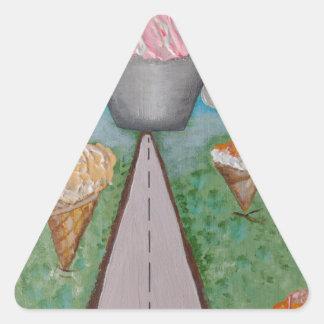 anjo cake.JPG Adesivo Triangular