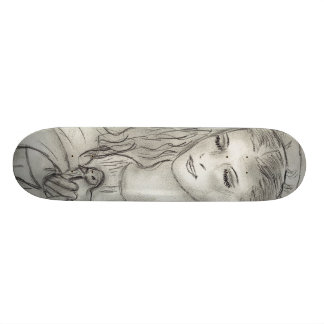 Anjo calmo shape de skate 18,1cm