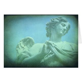 Anjo Cartão Comemorativo