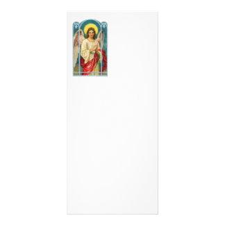 Anjo com o Triptych cor-de-rosa da fita 10.16 X 22.86cm Panfleto
