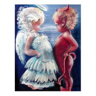 Anjo CONTRA o cartão do diabo