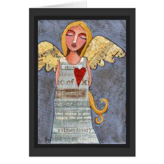 ANJO da CORAGEM - cartão angélico