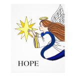"""""""Anjo da esperança """" Papéis De Carta Personalizados"""