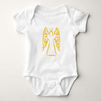 Anjo-da-guarda Body Para Bebê