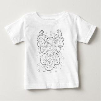 Anjo-da-guarda Camiseta Para Bebê
