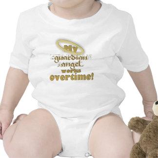 Anjo-da-guarda - Creeper infantil Camisetas