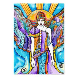 Anjo-da-guarda de 100 Aceo Cartão De Visita Grande